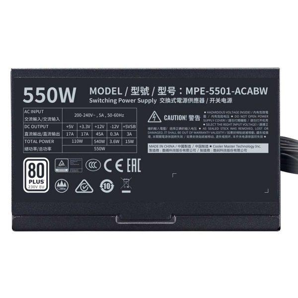 MWE-White-550-230V-2D-B